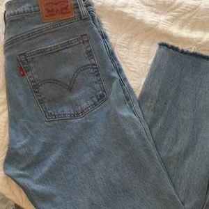 Levi's wedgie straight women's jeans